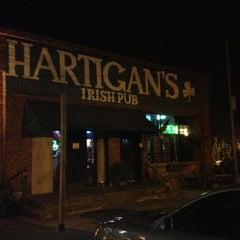 Photo taken at Hartigan's Irish Pub by Lesley on 11/4/2012