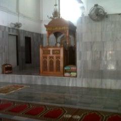 Photo taken at Masjid Agung Al-Falah by dimas on 12/4/2012