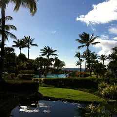 Photo taken at Waterslide @ Westin Oceanfront Villas by Tangster on 10/16/2012