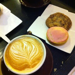 Photo taken at Cafe Demitasse by FoodTrucker T. on 3/4/2013