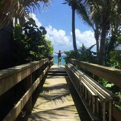 Photo taken at Highland Beach by christina l. on 5/24/2015