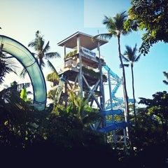 Photo taken at Waterbom Bali by Komang's J. on 3/19/2013