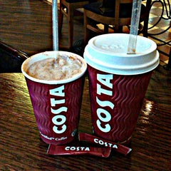 Photo taken at Costa Coffee by Stefani on 1/31/2013