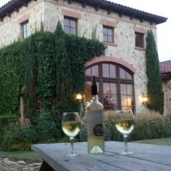 Photo taken at Duchman Family Winery by Audrey on 9/1/2013