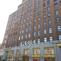 Photo taken at Google New York by Eddy on 3/3/2013