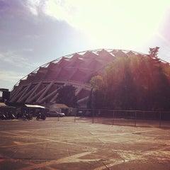 Photo taken at Palacio de los Deportes by Luis on 2/26/2013