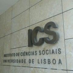 Photo taken at Instituto de Ciências Sociais - Universidade de Lisboa by Pedro Juárez F. on 5/29/2015