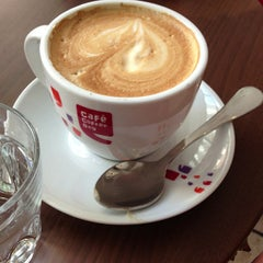 Photo taken at Coffee Day by Tobias on 6/23/2013