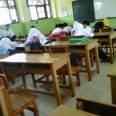 Photo taken at SMP Negeri 1 Bandung by Intan N. on 2/11/2013