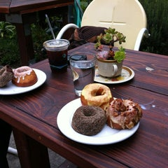 Photo taken at Dynamo Donut & Coffee by Mark E. on 1/5/2013
