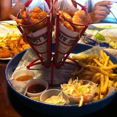 Photo taken at Bubba Gump Shrimp Co. by Daniel López Ruiz on 3/15/2013