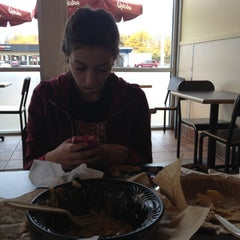 Photo taken at Qdoba Mexican Grill by Jakobi on 10/6/2012