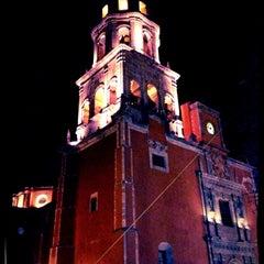 Photo taken at Templo de San Francisco by Ricardo on 10/5/2012