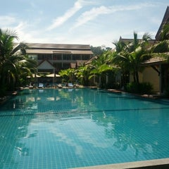 Photo taken at Lesprit De Naiyang Boutique Resort by Mark H. on 12/6/2012