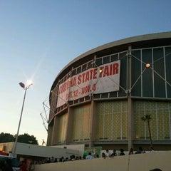 Photo taken at Arizona Veterans Memorial Coliseum by Charles B. on 10/28/2012