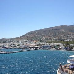 Photo taken at Λιμάνι Πάρου by Ioanna 🍭 G. on 6/21/2013