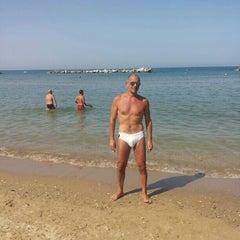 Photo taken at Lido Sirena by Maurizio O. on 8/9/2013