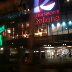 Photo taken at Robinsons Galleria by Anne R. on 12/4/2012