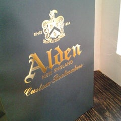 Photo taken at Alden New England Shoes by Danny H. on 11/9/2012