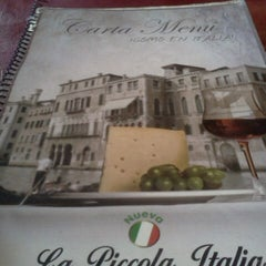 Photo taken at La Piccola Italia by Claudio A. on 10/31/2012