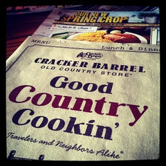 Photo taken at Cracker Barrel Old Country Store by Jerry H. on 4/10/2013