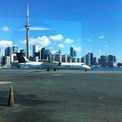 Photo taken at Billy Bishop Toronto City Airport (YTZ) by Julien on 4/6/2013