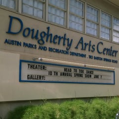 Photo taken at Dougherty Arts Center by Martin G. on 6/7/2014
