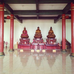 Photo taken at Vihara Theravada Buddha Sasana by Ronal Y. on 3/29/2015