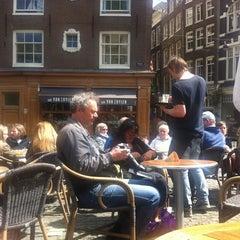 Photo taken at Café Van Zuylen by Bas v. on 5/9/2013