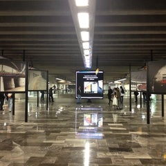 Photo taken at Metro Mixcoac (Líneas 7 y 12) by Frankie R. on 10/31/2012