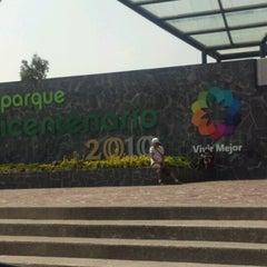 Photo taken at Parque Bicentenario by Oskarinni on 9/22/2012