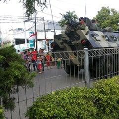 Photo taken at Jl. Jenderal Sudirman by _Farizy_ on 2/23/2014
