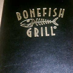 Photo taken at Bonefish Grill by Greg on 1/3/2014