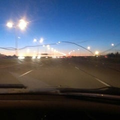 Photo taken at Anthony Henday Drive by James E. on 9/14/2012