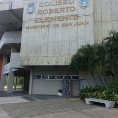Photo taken at Roberto Clemente Coliseum by Felix Luis R. on 4/26/2013