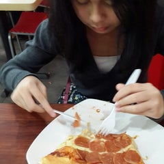 Photo taken at Food Court by prunella L. on 2/16/2014