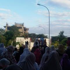 Photo taken at Menara Phinisi UNM by Indah Sari F. on 7/16/2015