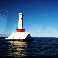 Photo taken at Shepler's Mackinac Island Ferry by leesseung on 9/16/2013