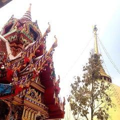 Photo taken at วัดหลวงพ่อโอภาสี (สวนอาศรมบางมด) Wat Luang Por Opasee by Chitʅ(´◔౪◔)スパチャイチット。 on 11/23/2015