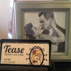 Photo taken at Tease Hair Salon by Francine D. on 1/25/2015