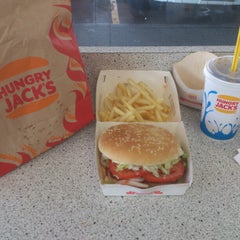 Photo taken at Hungry Jack's by Clem7Chan on 10/16/2012