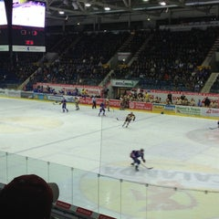 Photo taken at Swiss Arena by Fabian V. on 10/13/2012