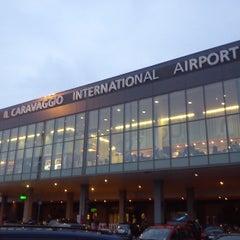 """Photo taken at Aeroporto di Orio al Serio """"Il Caravaggio"""" (BGY) by Simone on 4/6/2013"""