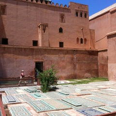 Photo taken at Saadian Tombs | قبور السعديين by Ruslan S. on 7/21/2013