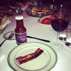 Photo taken at Wolfgang's Steakhouse by DJ R. on 12/31/2012