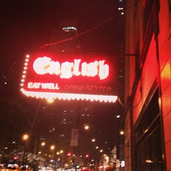 Photo taken at English Bar & Restaurant by DJ R. on 1/20/2013