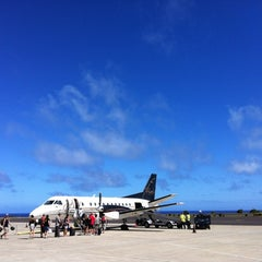 Photo taken at Lihue Airport (LIH) by Kirk on 10/20/2012