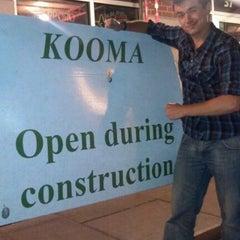 Photo taken at Kooma sushi Restaurant by Staczy on 9/19/2012