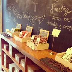 Photo taken at Mast Brothers Chocolate Factory by Tamami on 3/6/2013