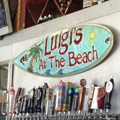 Photo taken at Luigi's At The Beach by Amber on 3/31/2013